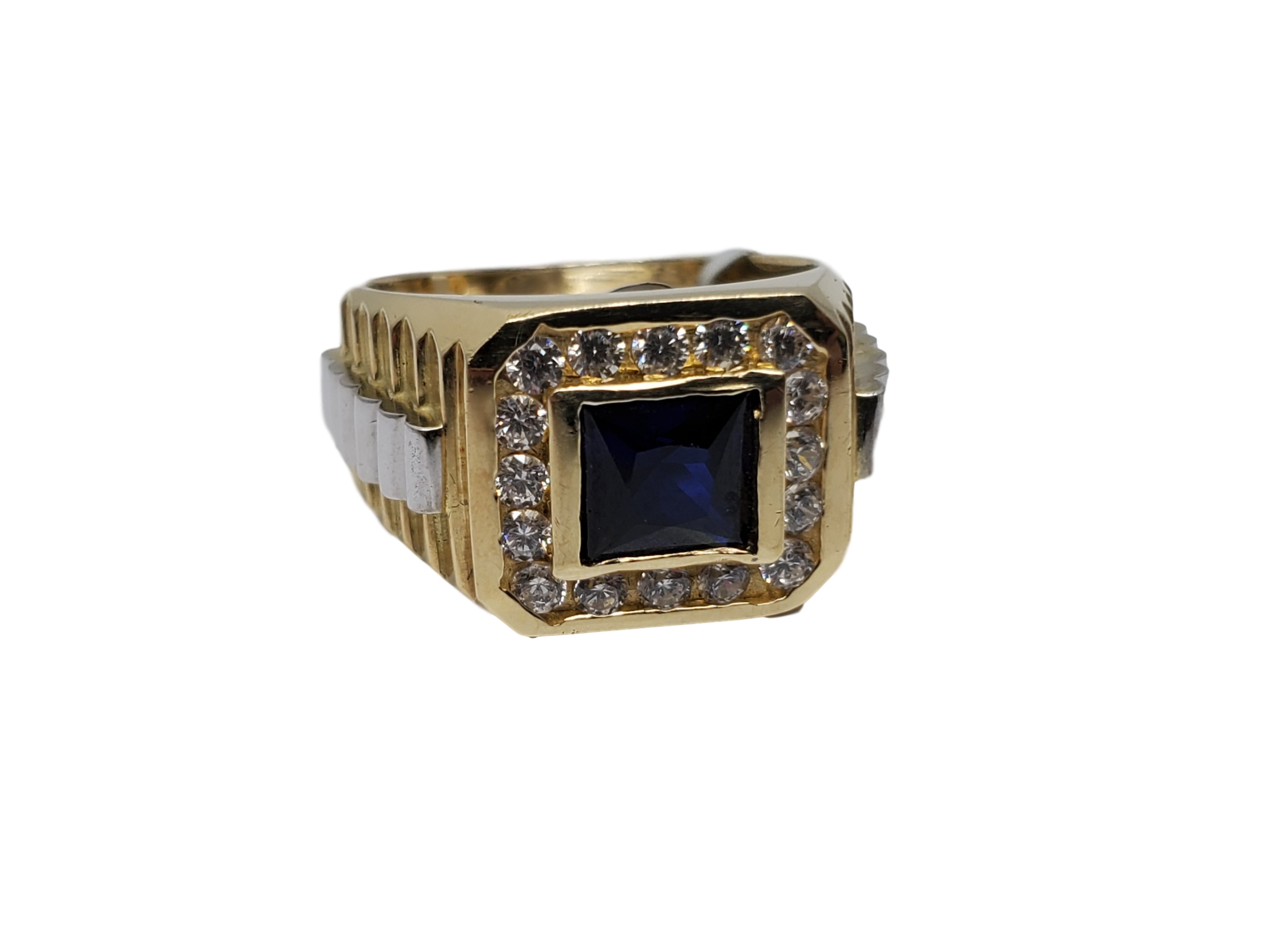 Bague ruby noir en or 10k model 2020