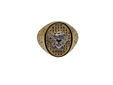 Bague Versace Flavio en or 10k model 2020