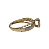 Bague Athena en or jaune 14k BUR-385