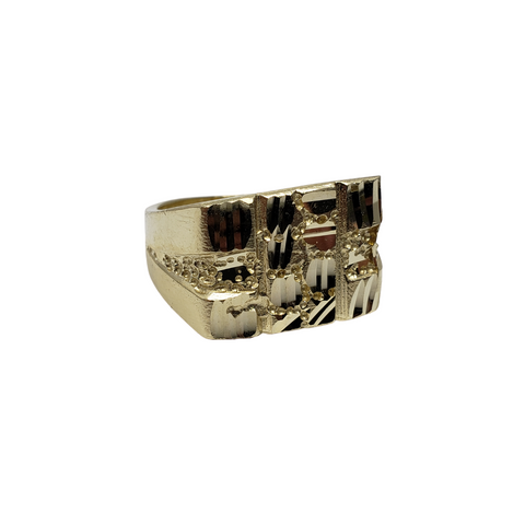 Bague Nuggo-09 en or 10k model 2020 LA035