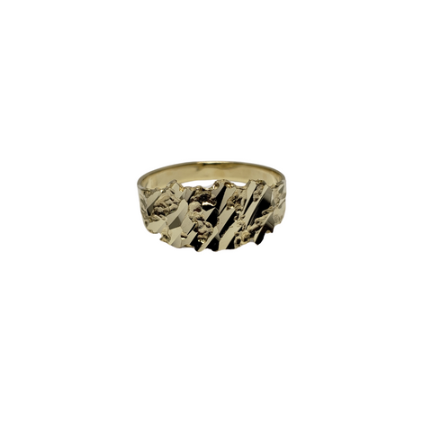 Bague NUGGO-11 en or 10k model 2020 LA040