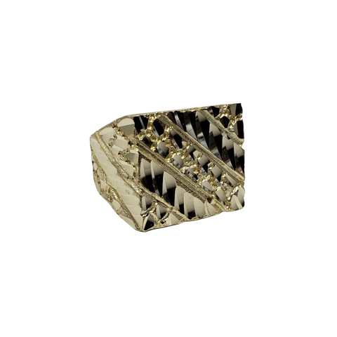Bague Nuggo-15 en or 10k model 2020 LA049