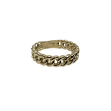 Bague SMALL Cuban Link en or 10k model 2020 LA042