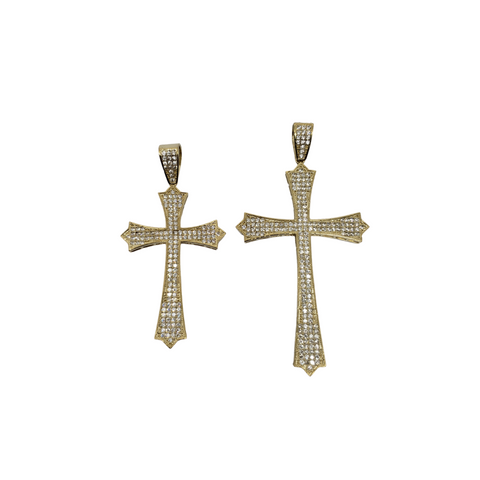 Pendantif Shinning Cross  en or 10k modele 2020 LA193