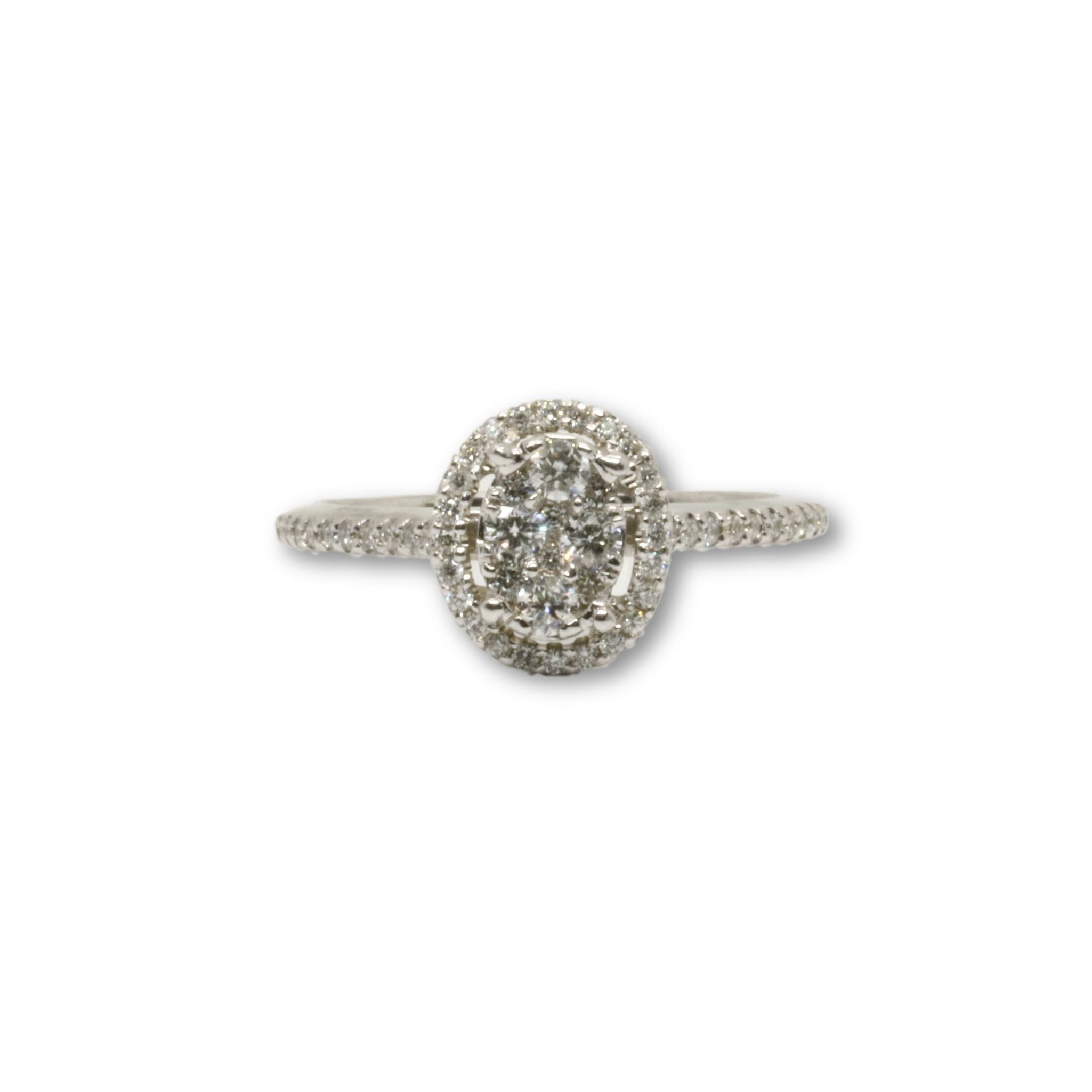 Bague Luckyy 0.40ct diamants en or 14k - orquebec