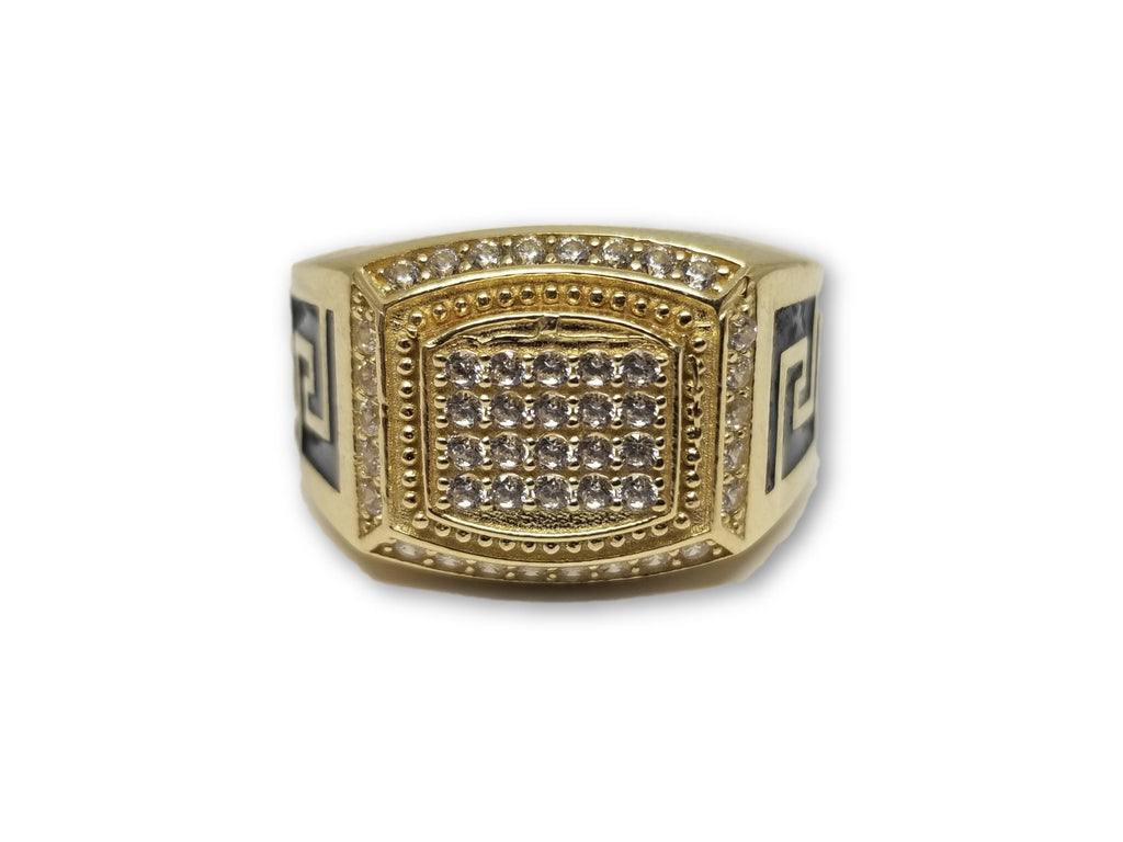Bague Versace Crystal blanc en or 10k - orquebec