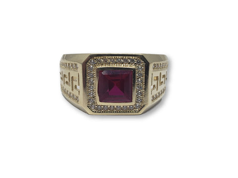 bague versace en or | Versace Ring 10K Ruby
