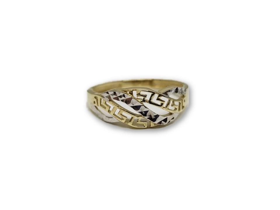 Bague versace Greek Design en or 10k - orquebec