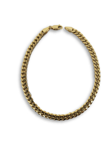 Bracelet Miami Cuban Link en or 10k 4.5MM