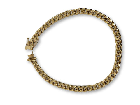 Bracelet Miami Cuban Link en or 10k 6MM