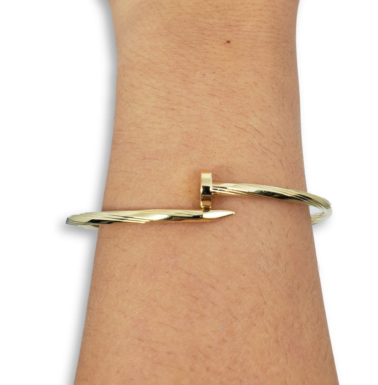 Bracelet10 en or 10K / Bangle10 in 10K gold - orquebec