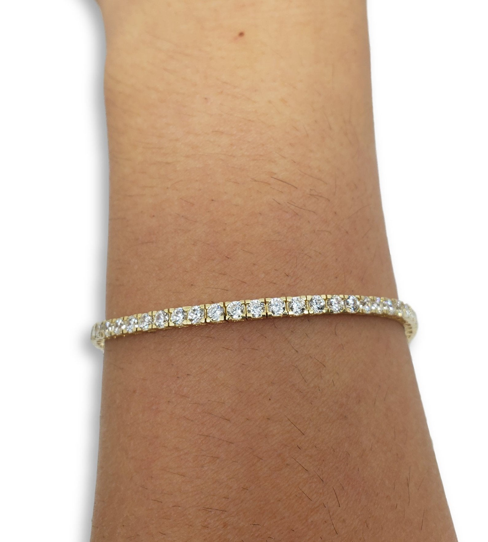 Bracelet11 en or 10K / Bangle11 in 10K gold - orquebec