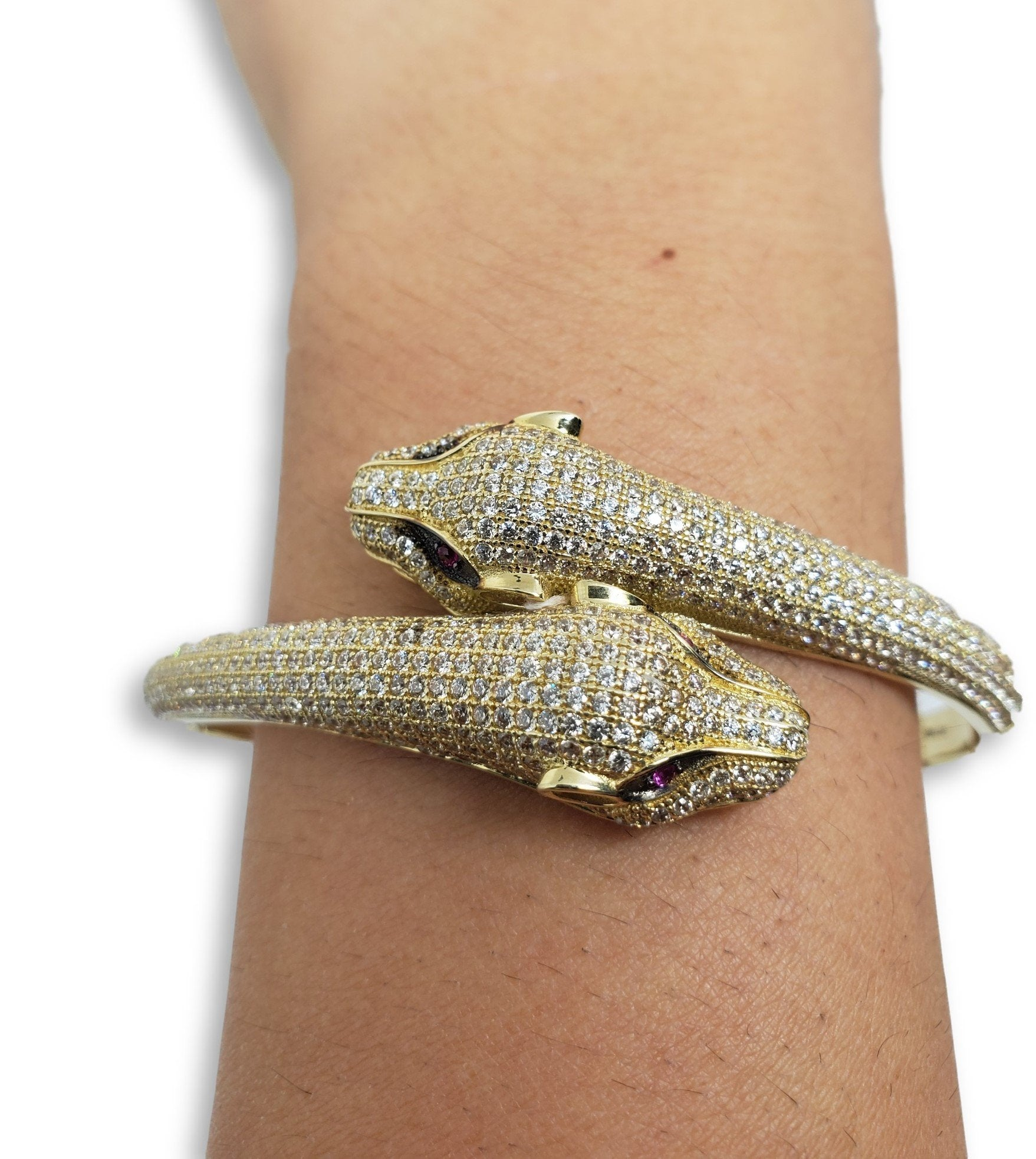 Bracelet6 en or 10K / Bangle6 in 10K gold - orquebec