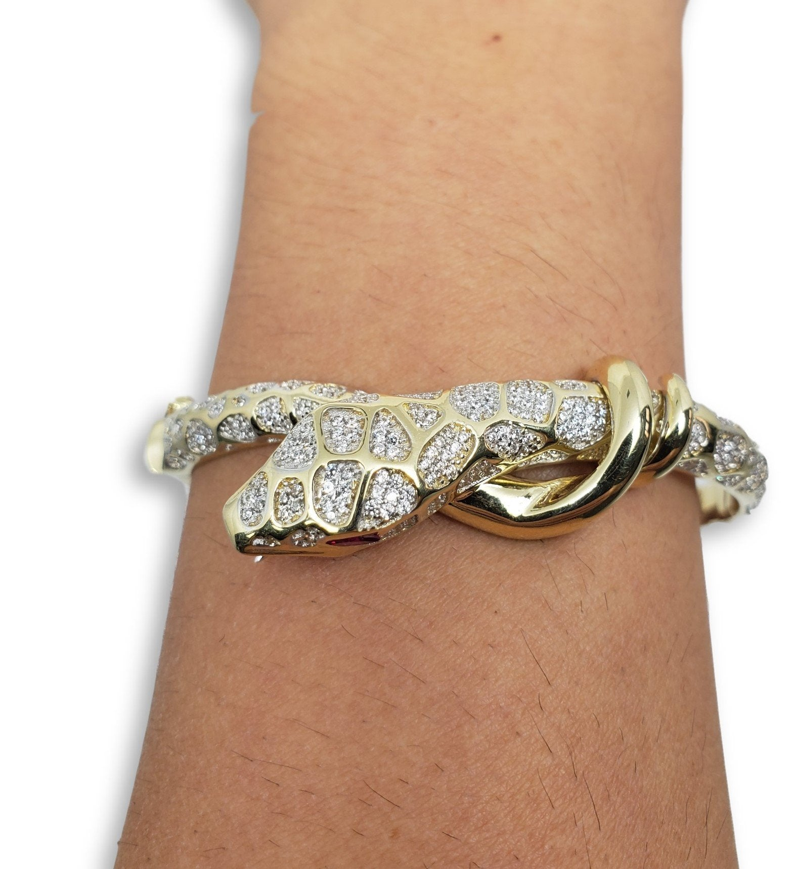 Bracelet9 en or 10K / Bangle9 in 10K gold - orquebec
