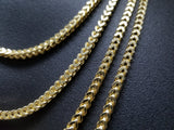 Chaine Franco en or jaune 3.5MM 10K Pour Homme | Franco Chain for Men 3.5MM in Yellow GOld 10kt-Gold Custom