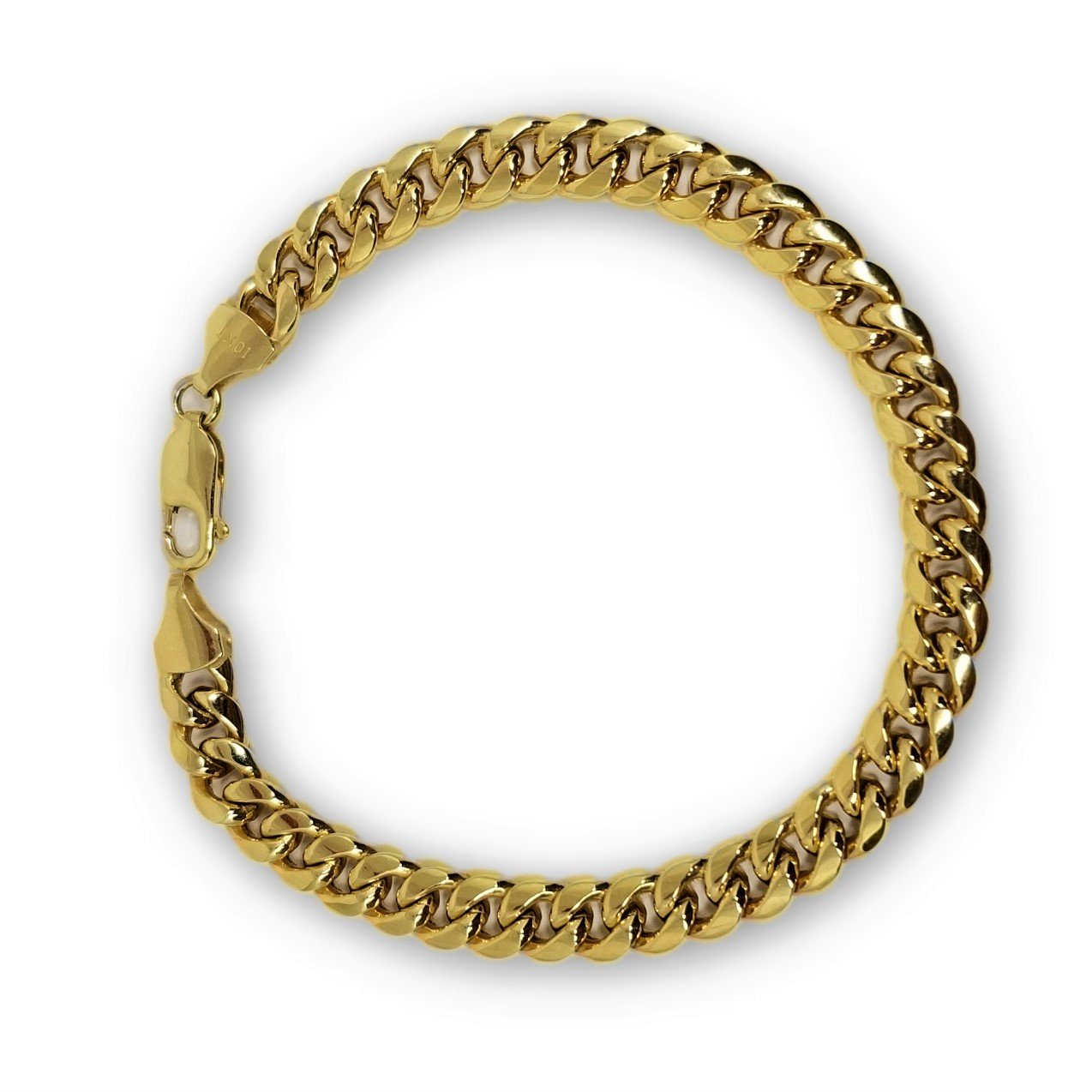 Miami Cuban Link en or 10K 7mm Italien - orquebec