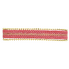 Gold Stripes Bracelet with Clasp