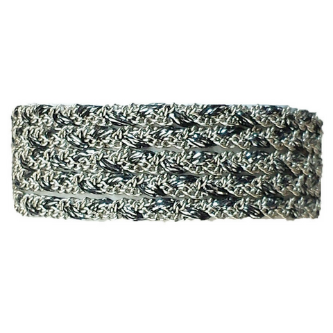 Classic in Mixed Metallic Yarn