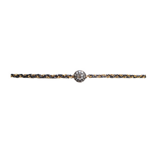 Gold Studded Diamond Choker