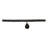 Druzy Dream Choker in Black