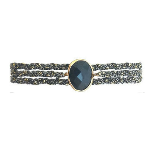 Classic Stone in Smokey Quartz with Clasp