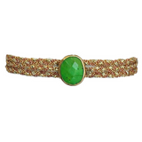Classic Stone in Green Turquoise with Clasp