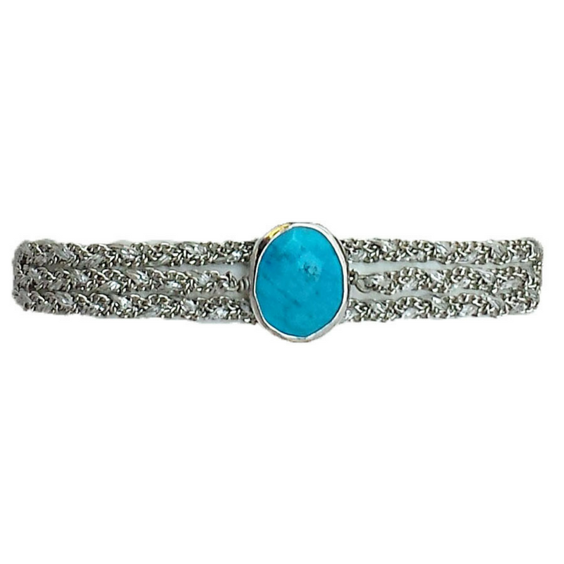 Classic Stone in Turquoise with Clasp