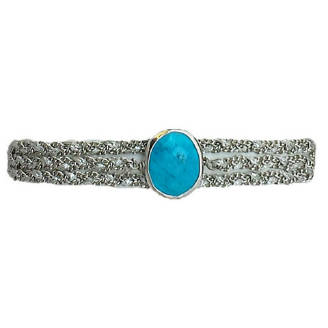 Gemstone Wrap in Turquoise