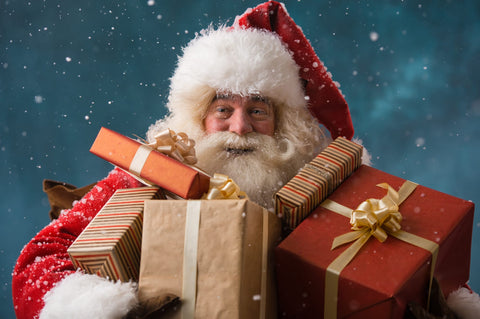 Santa Claus was St. Nicholas who was very kind and helpful. Stories revolving around him giving away his entire wealth to the poor and going around the world is very famous amongst the world.