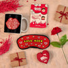 Delightful Hamper with Quirky Love Coupon Book for Him