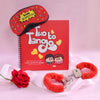 Romantic Gift Hamper with Quirky Activity Book
