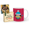 Chhupi Rustam Mug with Mini Frame (Pink)