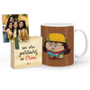Sundari Mug with Mini Frame (Brown)