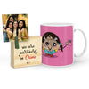 Kalakaar Mug with Mini Frame (Pink)