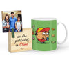 Bhukkad Mug with Mini Frame (Green)