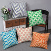 Abstract Print 5 Cushion Cover Set (Multi)