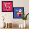 Granddad and Grand mom Quote Set of 2 Poster Frame