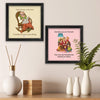 Grandma and Grandpa you are Best Set of 2 Poster Frame