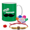 Stud Brother Mug with Rakhi