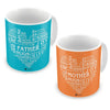 Words for Mom-Dad Coffee Mugs