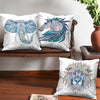 Animal Mandala Abstract Set of 3 Cushion Covers