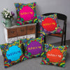 Welcome Set of 5 Cushion Covers