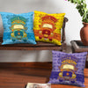 Good Luck Truck Art Set of 3 Cushion Covers