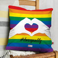 Indigifts Colourful Rainbow Multi Cushion Cover