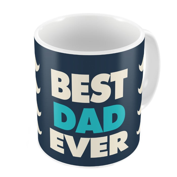 Super Dad Quote Dad Having Fun With Child White Coffee Mug