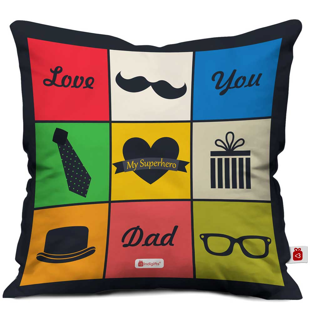 Love You Dad Quote Father's Things Multi Cushion Cover