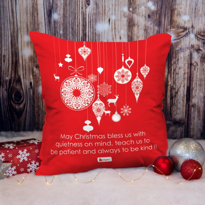 Indigifts Illustration Of Decorative Festival Ornaments And Charms Cushion