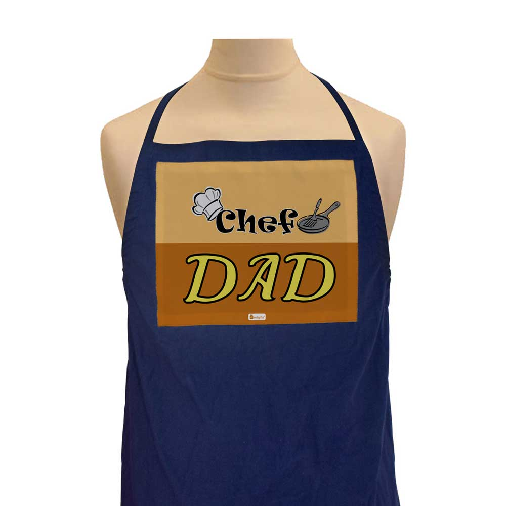 Daddy's Cooking Cap Brown Apron
