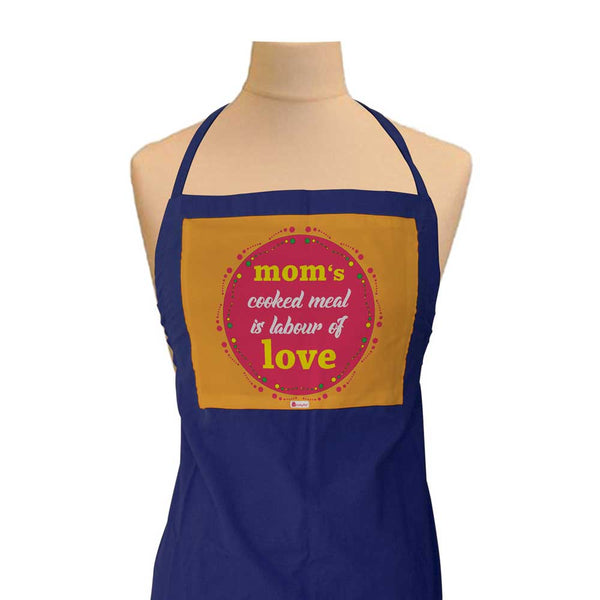 Gift for Mom - Mom Cooked Meal Is Labour Of Love Quote Blue Apron