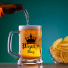 Papa's Day Glass Beer Mug